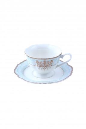 طقم فنجان شاي - مزخرف