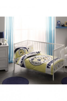 طقم غطاء سرير بيبي - فنربهشة