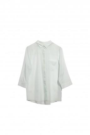 قميص نسائي بجيب جانبي سبور