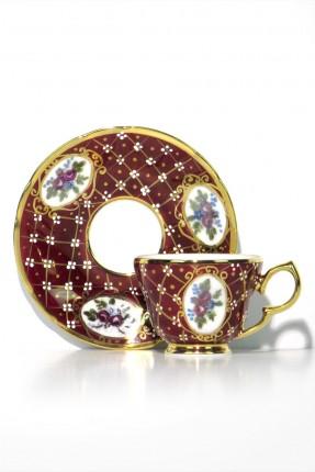 طقم قهوة للعروسين / 2شخص - 4 قطعة /