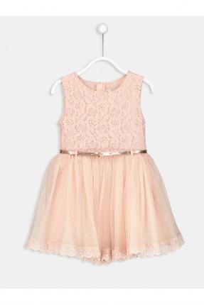 فستان اطفال بناتي مع دانتيل
