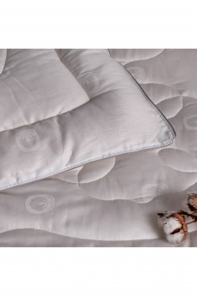 لحاف سرير بيبي - ابيض
