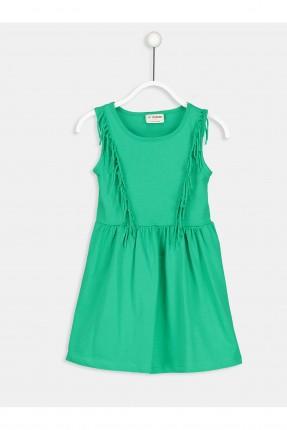 فستان اطفال بناتي مع شراشيب