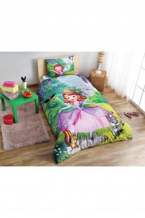 طقم غطاء سرير اطفال بناتي مع رسمة