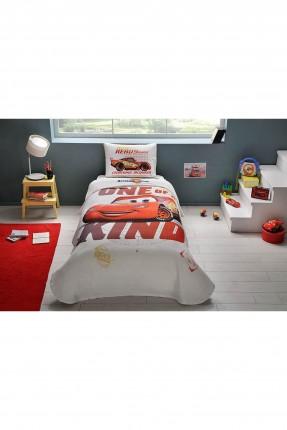 طقم بطانية سرير اطفال - رسمة سيارة