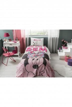 طقم بطانية سرير اطفال بناتي - ميني ماوس