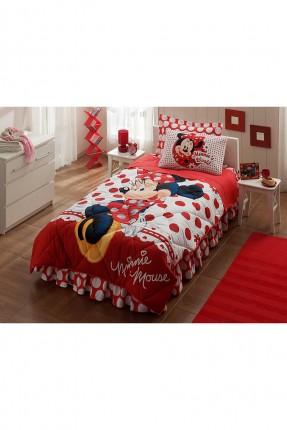 طقم لحاف سرير اطفال بناتي - ميني ماوس