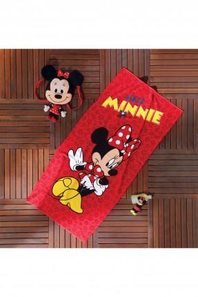 منشفة اطفال بناتي - ميني ماوس