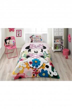 طقم غطاء سرير اطفال بناتي - ميني ماوس