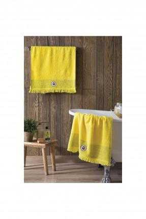 منشفة حمام فنربهشة - اصفر