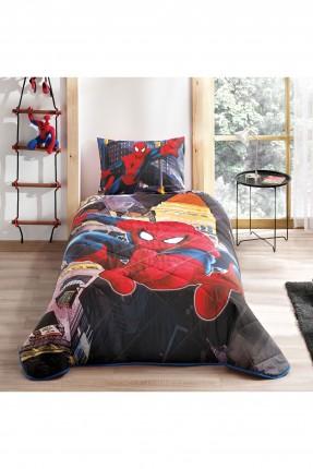 غطاء سرير اطفال ولادي - سبايدر مان