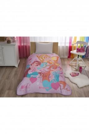 بطانية مفردة سرير اطفال بناتي مع رسمة
