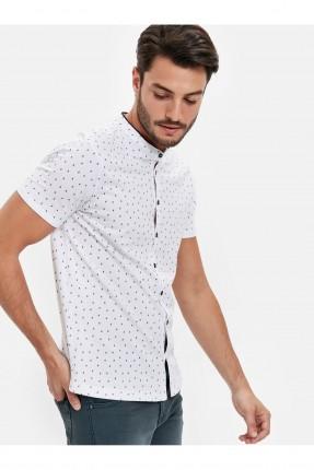 قميص رجالي بياقة صينية