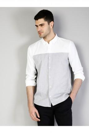 قميص رجالي بدون جيب