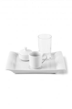 طقم فنجان قهوة شخص واحد 5 قطع