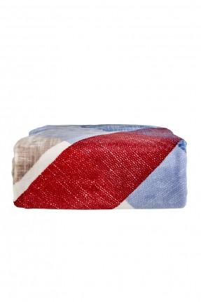 بطانية سرير مزدوج - ملونة