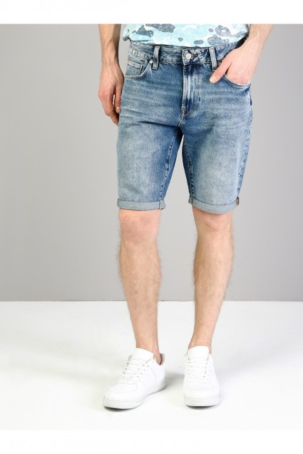 8d9d95995 شورت جينز كاحت رجالي | كولينز colins | تسوق اون لاين في تركيا ...