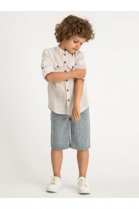قميص اطفال ولادي كم طويل