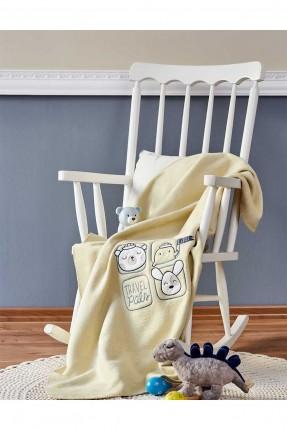 بطانية سرير بيبي مع رسمة