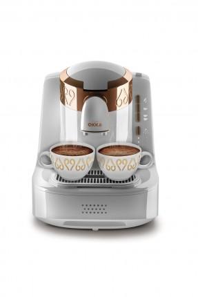 ماكينة قهوة كهربائية - ابيض