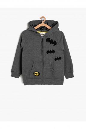 جاكيت اطفال ولادي بطبعات باتمان مع كبشون