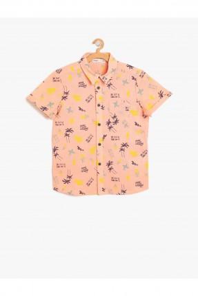 قميص اطفال ولادي منقوش
