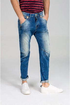 بنطال رجالي جينز مع جيوب