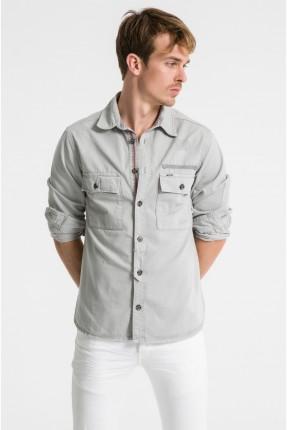 قميص رجالي جينز بازرار