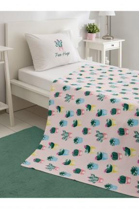 طقم بطانية سرير فردي برسومات
