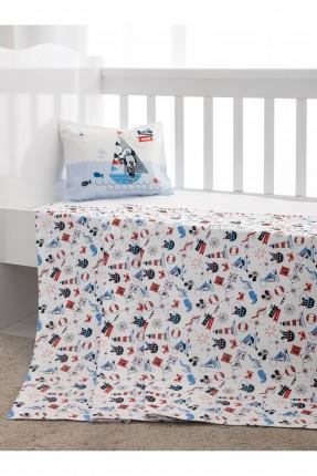 طقم بطانية سرير بيبي - ميكي ماوس