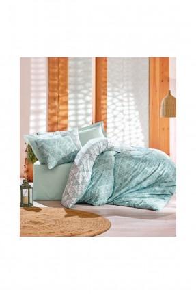 طقم غطاء سرير فردي - مثلثات