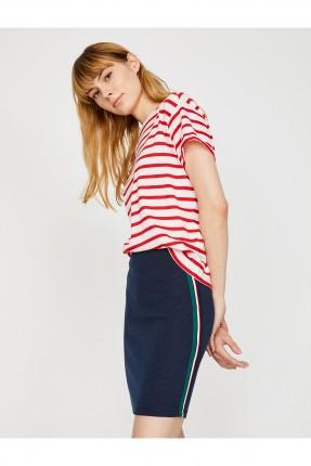 تنورة قصيرة - ازرق داكن