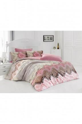 طقم غطاء سرير مزدوج زخرفة نباتية