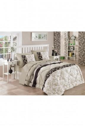 طقم لحاف سرير مفرد - ورق شجر