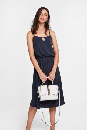 فستان سبور مع زم