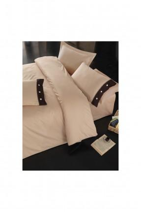 طقم غطاء سرير مفرد - بيج