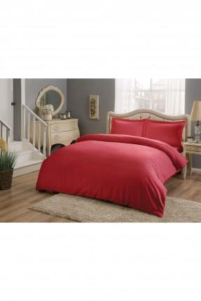 طقم غطاءسرير مزدوج - احمر