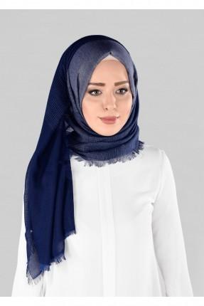 حجاب تركي  سبور - ازرق داكن
