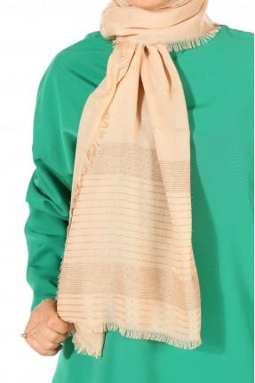 حجاب تركي بخطوط لامعة