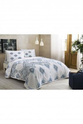 طقم بطانية سرير مزدوج - مزخرف