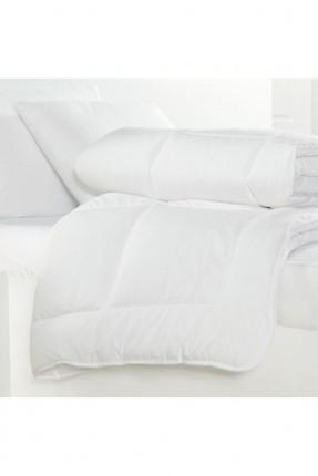 لحاف سرير مزدوج - ابيض