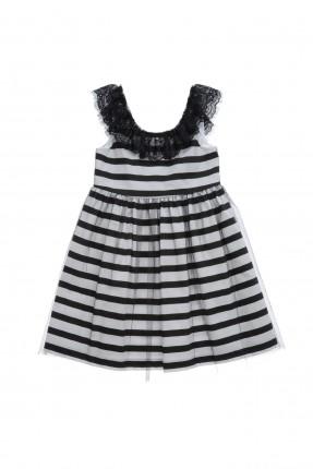 فستان اطفال بناتي - مخطط