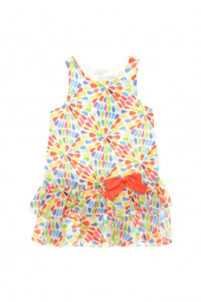 فستان اطفال بناتي - ملون