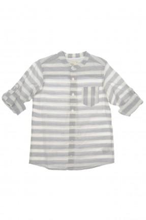 قميص اطفال ولادي - مخطط