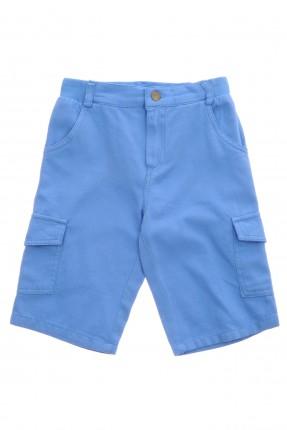 شورت اطفال ولادي - ازرق