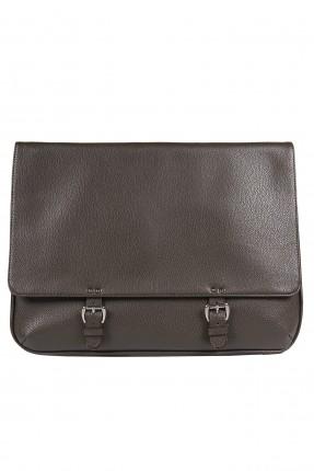 حقيبة اوراق رجالية - بني