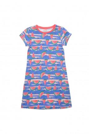 فستان نوم اطفال بناتي مع رسمة بطيخ