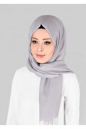 حجاب تركي - رمادي