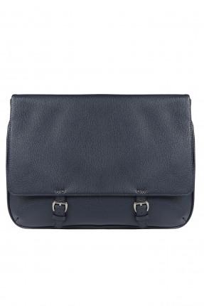 حقيبة اوراق رجالية - ازرق داكن