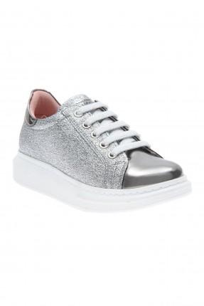 حذاء رياضي اطفال بناتي - رمادي
